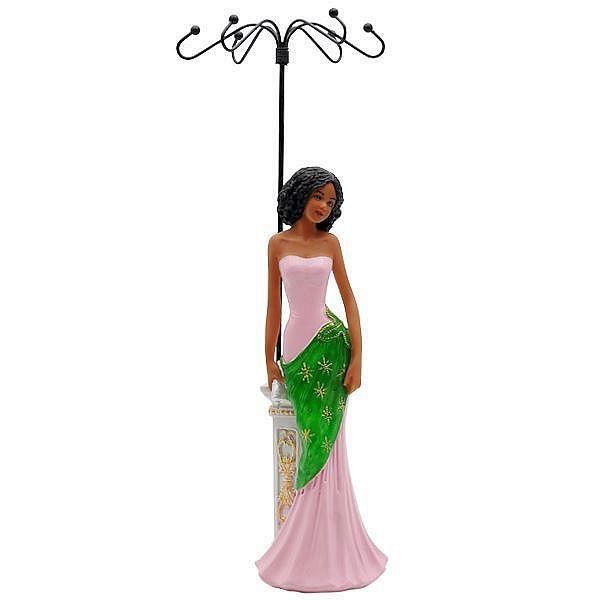 Ivy Excellence: African American Jewelry Holder & Figurine by African American Expressions