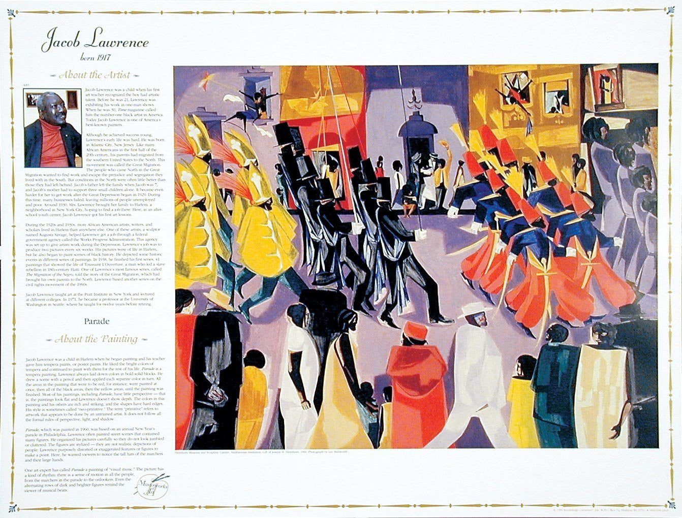 Masterworks of Art: Jacob Lawrence by Knowledge Unlimited