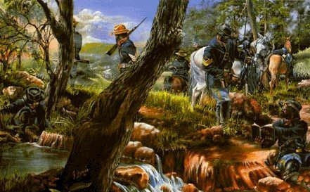 Buffalo Soldiers 10th Calvary by Gary Thomas