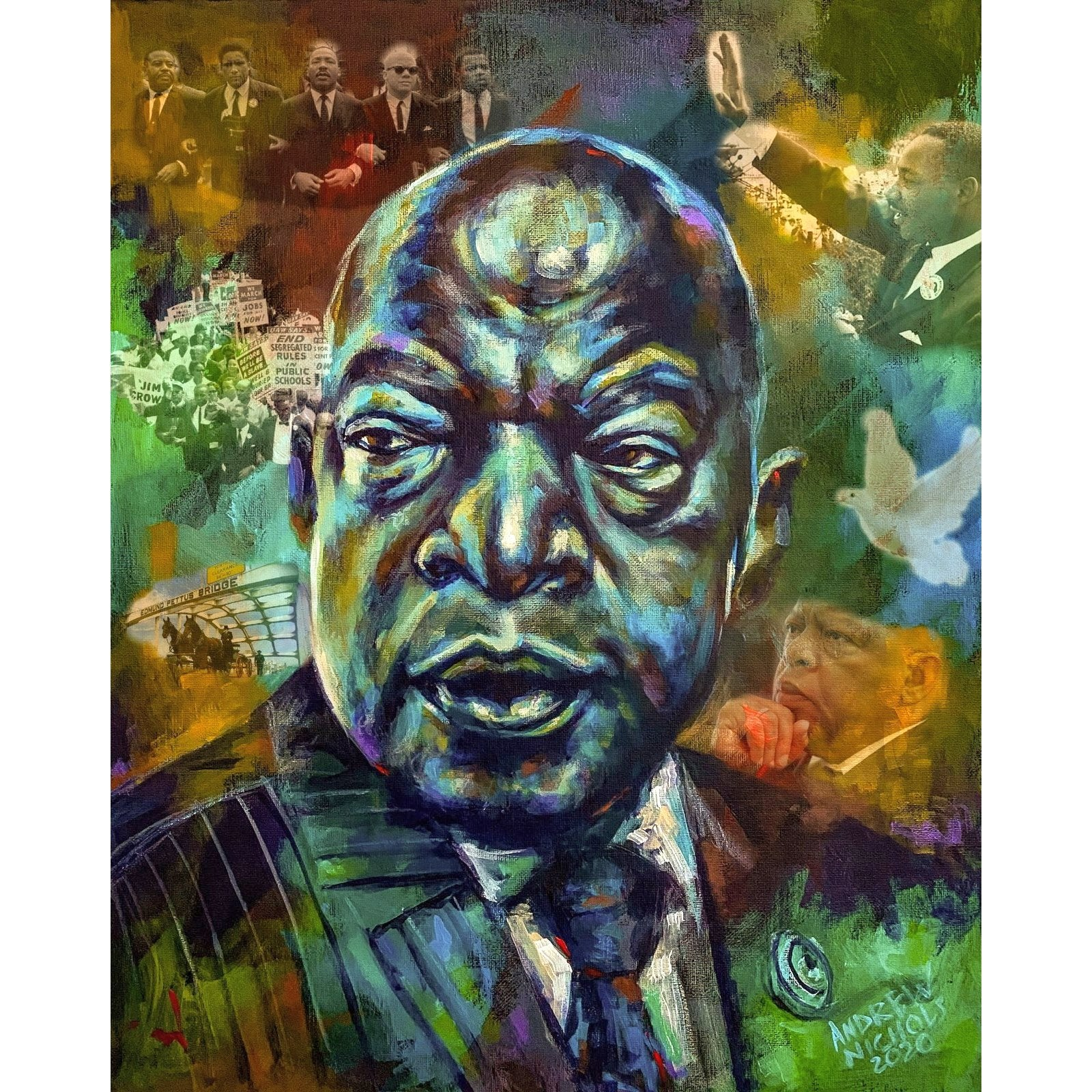 John Lewis: Conscience of the Congress by Andrew Nichols