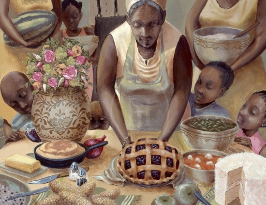 Mama's Table by John Holyfield
