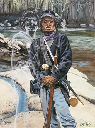 Female Buffalo Soldier: Cathay Williams by John W. Jones