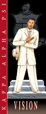 Vision: Kappa Alpha Psi by Johnny Myers (Art Print)