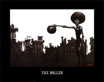 The Baller by Justin Bua