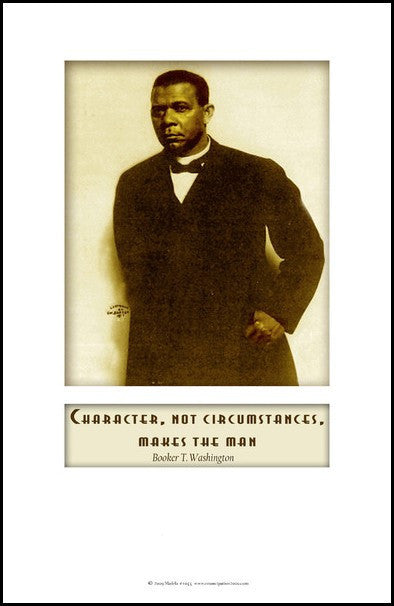 Booker T. Washington: Character by Julian Madyun