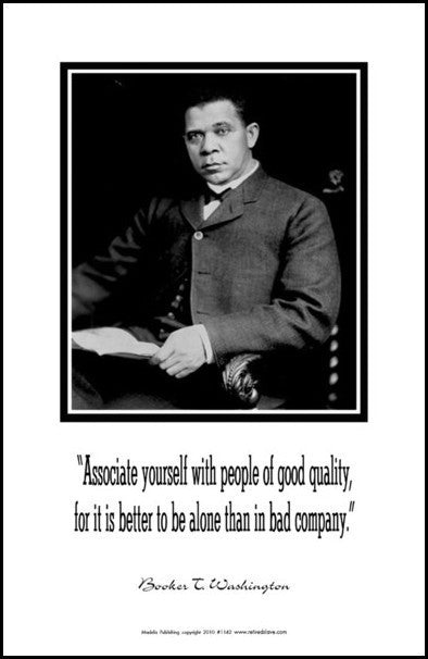 Booker T. Washington: Quality People by Julian Madyun