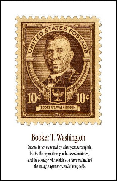 Booker T. Washington: Success by Julian Madyun