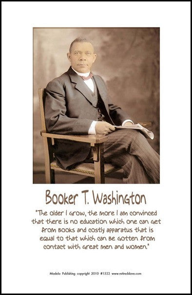 Booker T. Washington: Great Men and Women by Julian Madyun
