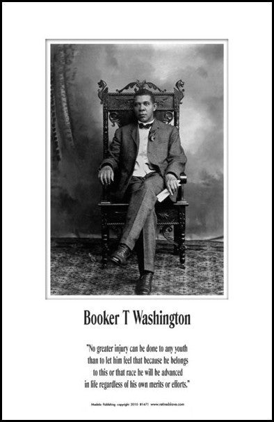 Booker T. Washington: Merits or Efforts by Julian Madyun