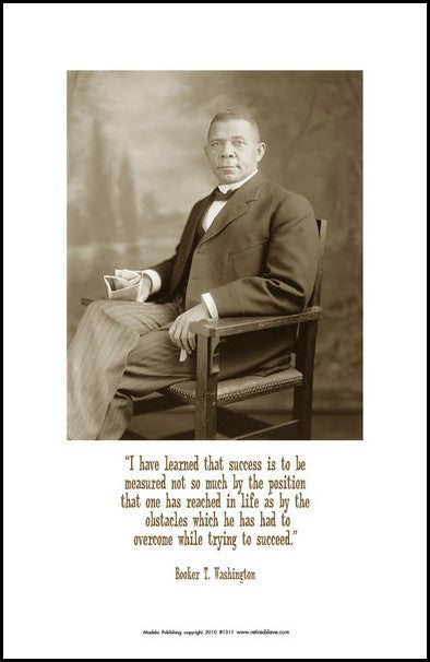 Booker T. Washington: Obstacles by Julian Madyun