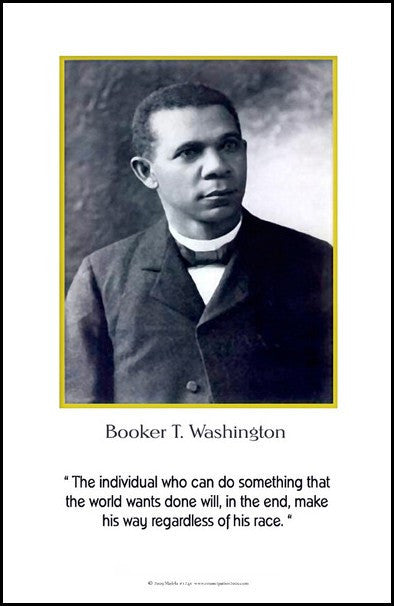 Booker T. Washington: Regardless Of His Race by Julian Madyun