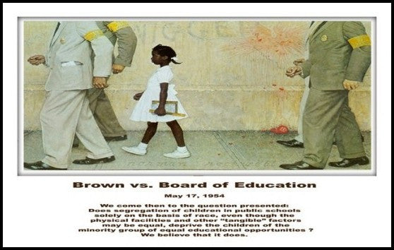 Brown vs. the Board of Education by Julian Madyun