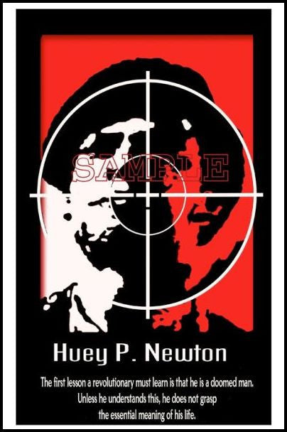 Huey P. Newton: Doomed by Julian Madyun