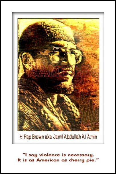 H. Rap Brown: Violence by Julian Madyun