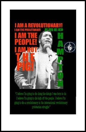 Fred Hampton: I am the People by Julian Madyun