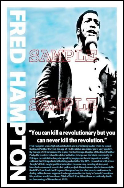 Fred Hampton: Can't Kill the Revolution by Julian Madyun