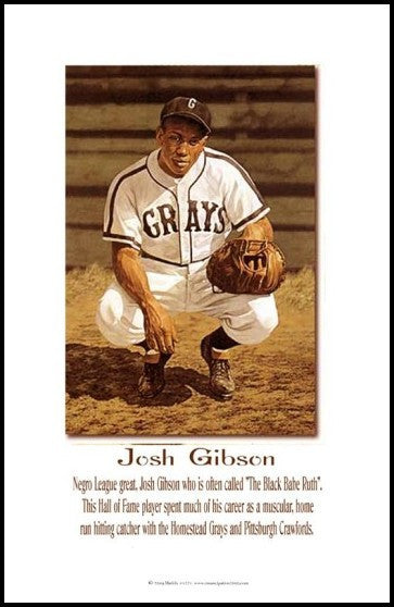 Black Babe Ruth: Josh Gibson by Julian Madyun