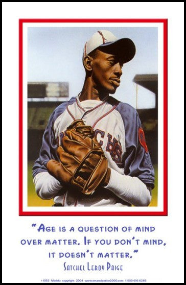 "Mind Over Matter: Leroy ""Satchel"" Paige by Julian Madyun"