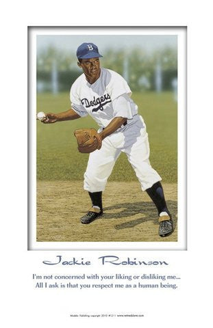 Human Being: Jackie Robinson by Julian Madyun