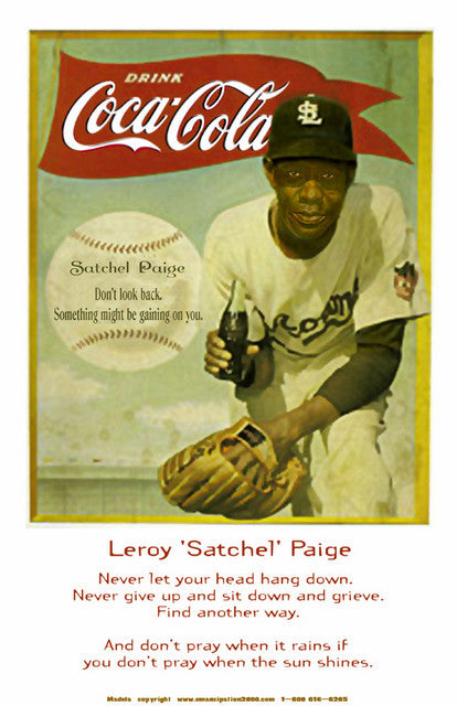 "Find Another Way: Leroy ""Satchel"" Paige by Julian Madyun"
