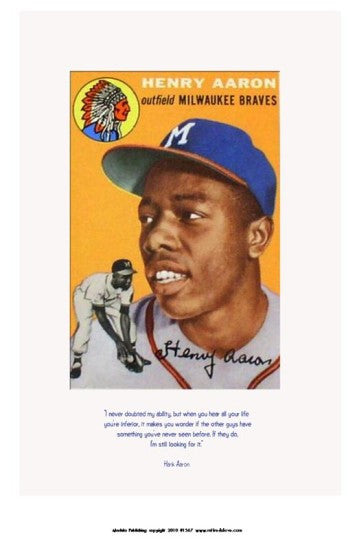 Still Looking for It: Hank Aaron by Julian Madyun