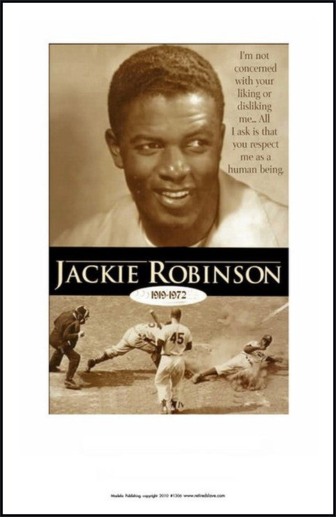 Respect Me as a Human: Jackie Robinson by Julian Madyun