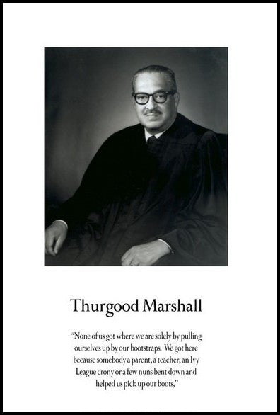Thurgood Marshall: Bootstraps by Julian Madyun