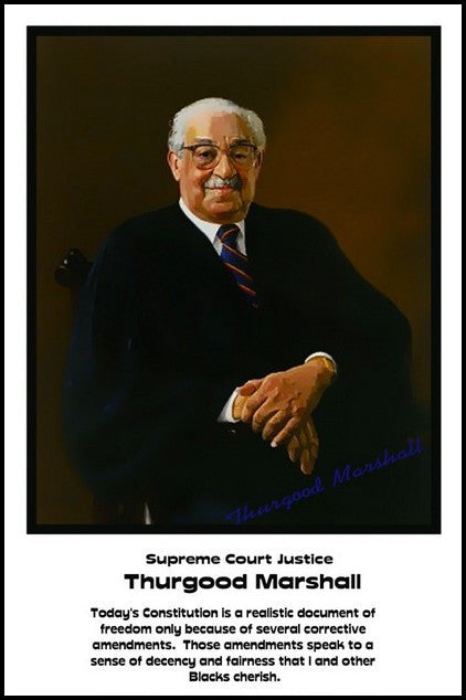 Thurgood Marshall: Decency and Fairness by Julian Madyun