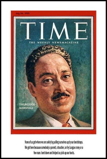 Thurgood Marshall: Time Magazine by Julian Madyun