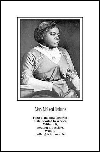Devoted to Service: Mary McLeod Bethune by Julian Madyun