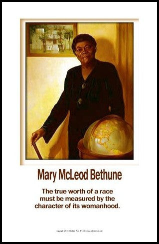 Womanhood: Mary McLeod Bethune by Julian Madyun