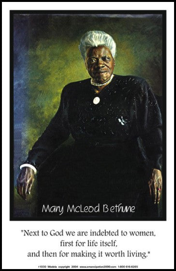 Indebted: Mary McLeod Bethune by Julian Madyun