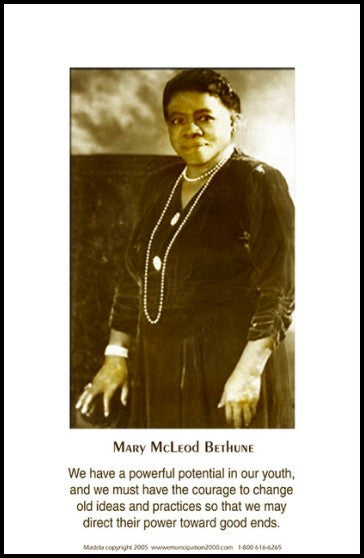 Our Youth: Mary McLeod Bethune by Julian Madyun