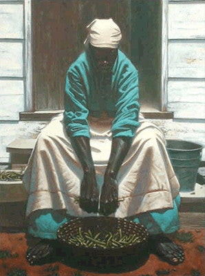 Green Beans by Kadir Nelson