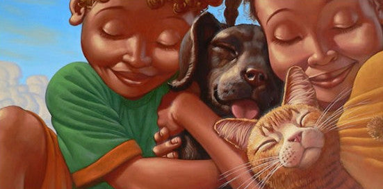Puppy Love by Kadir Nelson (Limited Edition Art)