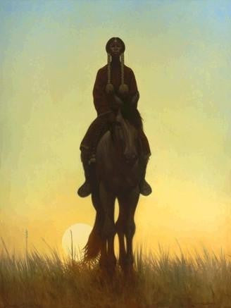 Kiowa Down by Kadir Nelson (Limited Edition Art)