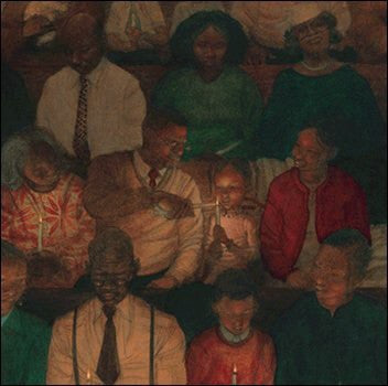 Christmas Eve by Kadir Nelson