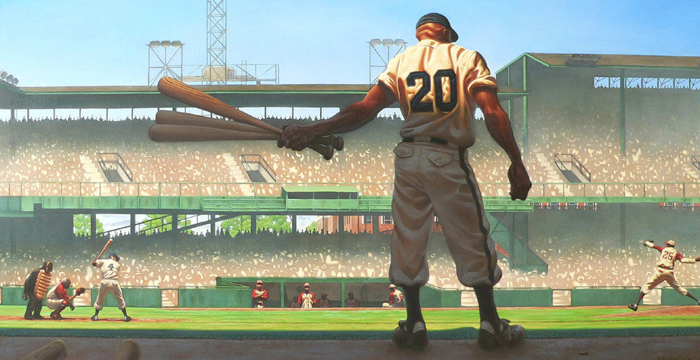 Mighty Josh: Josh Gibson by Kadir Nelson