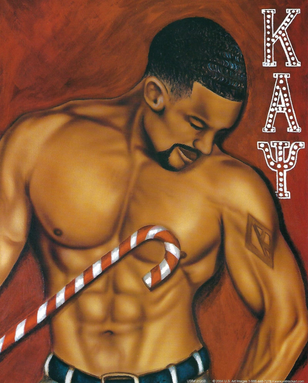 Kappa Alpha Psi by Fred Mathews (Art Print)