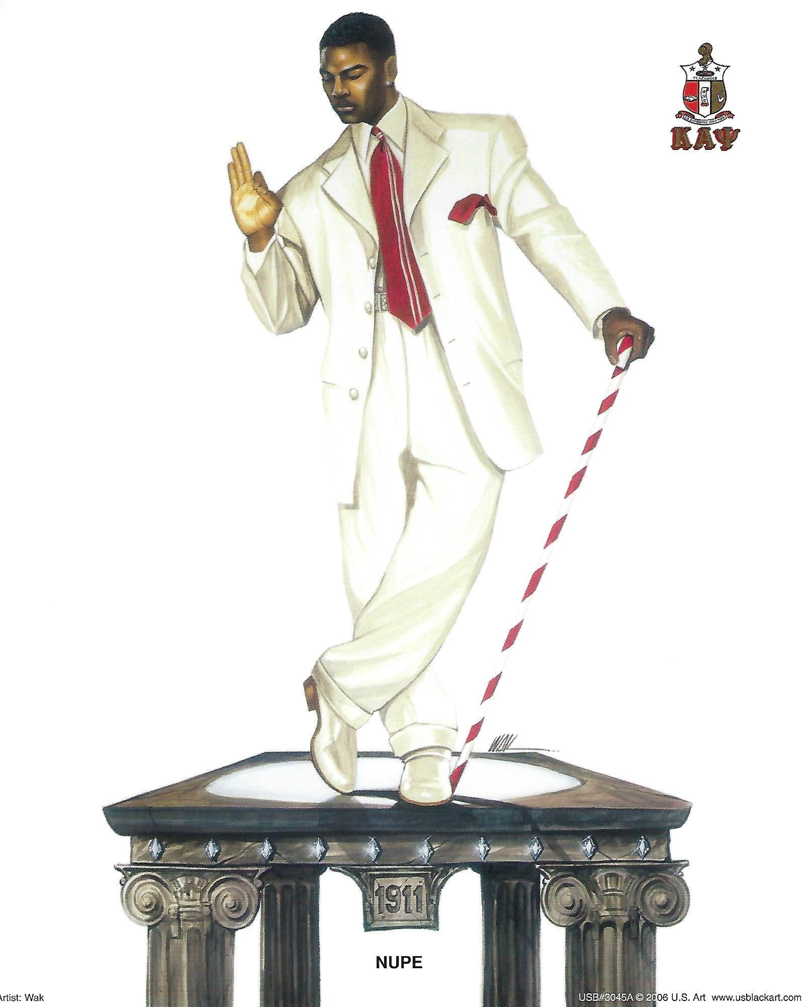 "Nupe: Kappa Alpha Psi by Kevin ""WAK"" Williams"