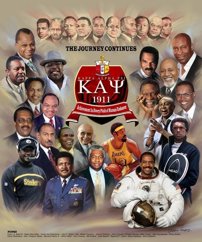 Kappa Alpha Psi Men: Nupes by Wishum Gregory