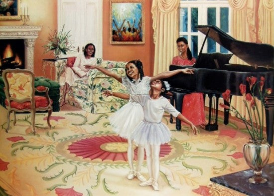 Dancing In The Living Room by Katherine Roundtree
