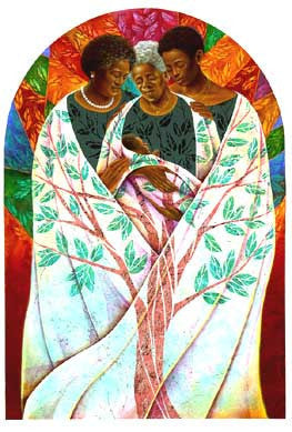 Family Tree by Keith Mallett