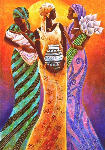 Sisters Of The Sun by Keith Mallett