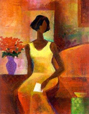 The Letter by Keith Mallett