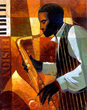 Fusion by Keith Mallett