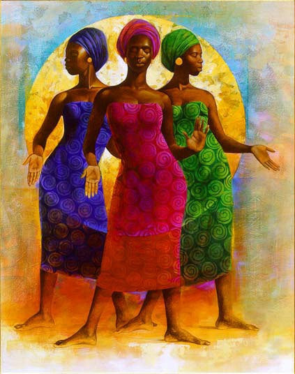 Rhythm by Keith Mallett