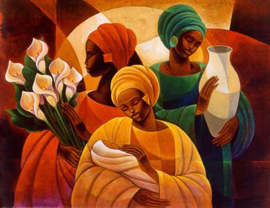 Caress by Keith Mallett