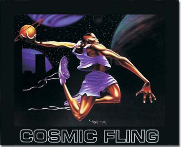 Cosmic Fling by Kadir Nelson