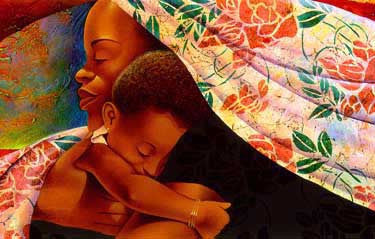 In Mother's Hands by Keith Mallett